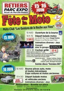 FÊTE DE LA MOTO – Les Guidons de la Roche aux Fées – RETIERS (35) @ Retiers | Retiers | Bretagne | France