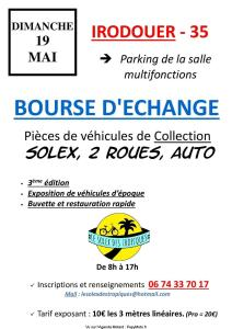 Bourse d'échange, Solex, 2 Roues, Auto - Irodouer (35) @ Parking Salle Multifonction | Irodouër | Bretagne | France