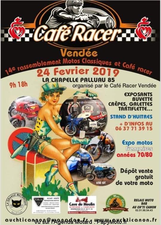 Café Racer – La Chapelle-Palluau (85)