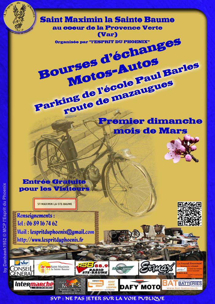 Bourse motos-autos – Mazaugues (83)