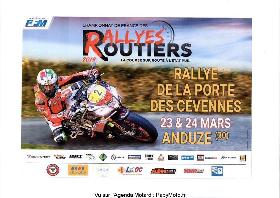 Rallye de la porte des Cévennes - Anduze (30)