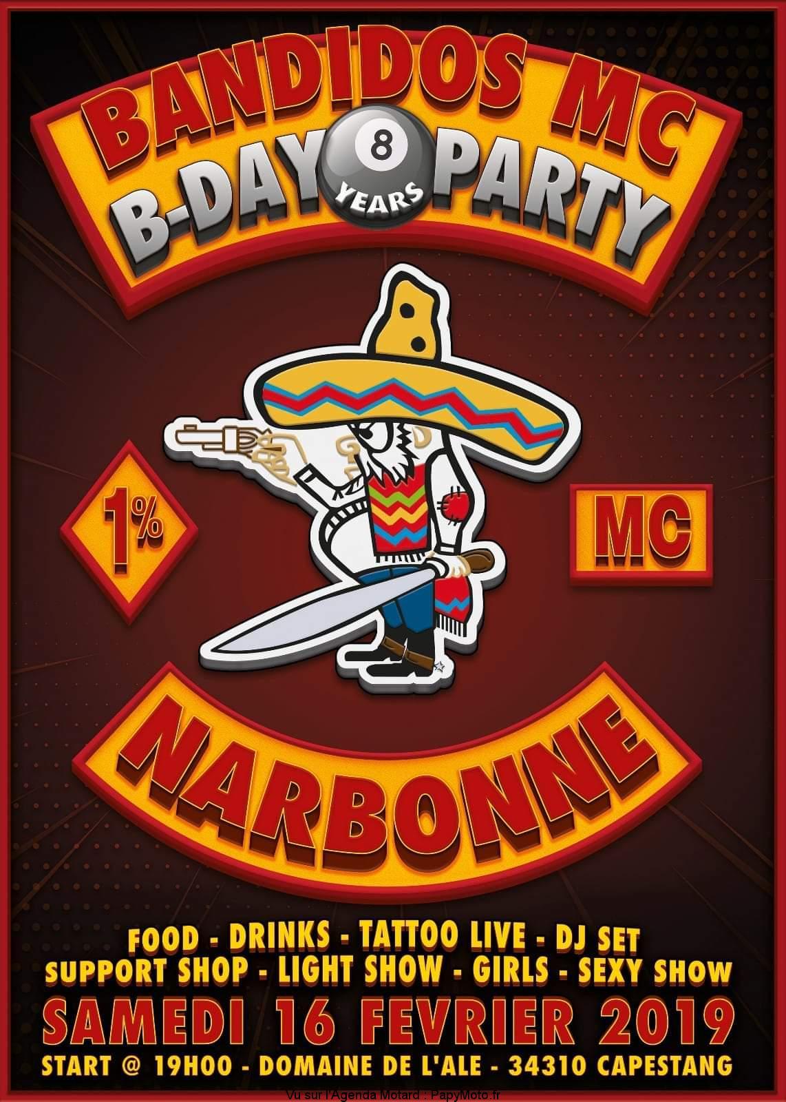 B-Day Party – Bandidos MC – Narbonne (11)