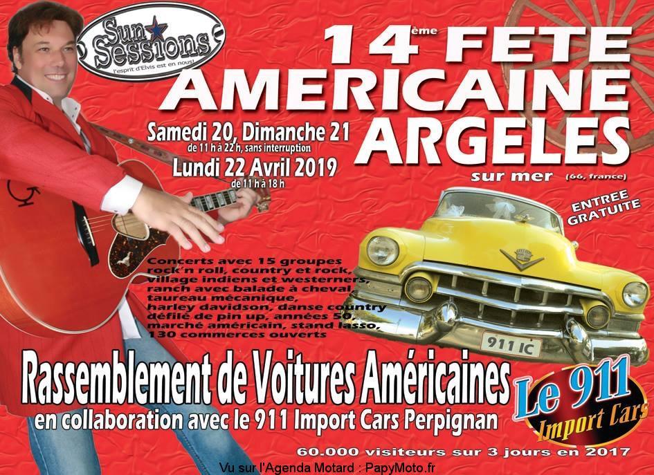 14E FÊTE AMÉRICAINE – ARGELES SUR MER (66)