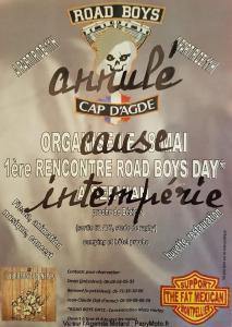 1e Rencontre Road Boys Day - Servian (34) XXX ANNULE XXX @ Servian 34   Servian   Occitanie   France