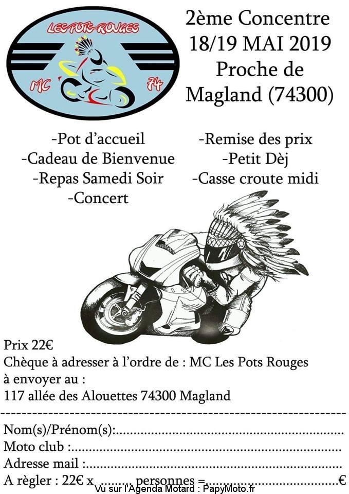 2e Concentre – Moto Club les Pots-Rouges – Magland (74)
