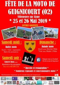 4e Fête de la moto – Guignicourt (02) @ Guignicourt (02) | Guignicourt | Hauts-de-France | France