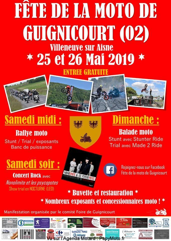 4e Fête de la moto – Guignicourt (02)