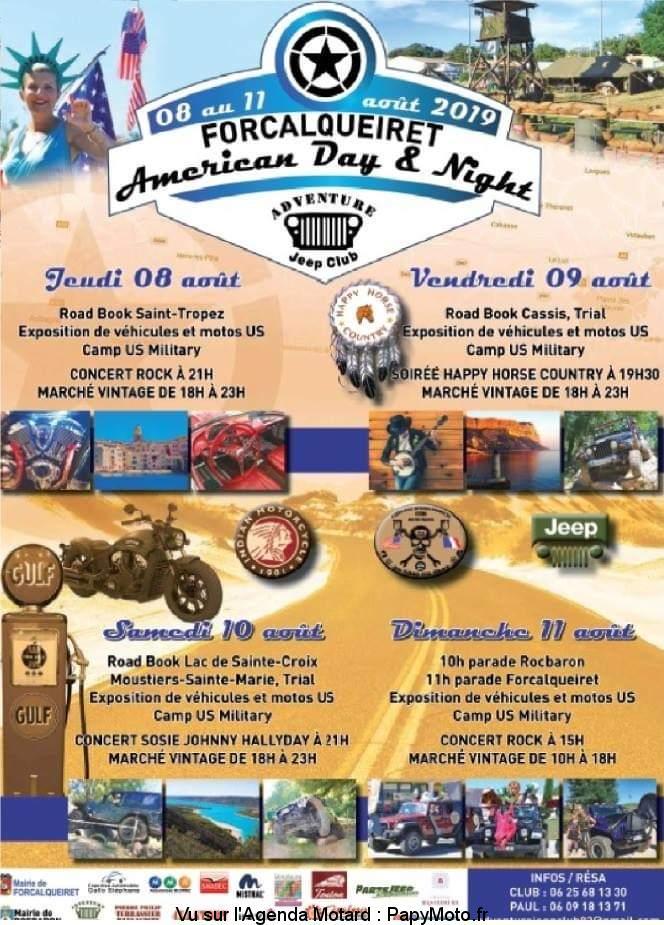 Américan Day & Night –  Forcalqueiret (83)