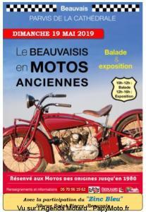 Le Beauvaisis en Motos Anciennes – Beauvais (60) @ Parvis de la Cathédrale | Beauvais | Hauts-de-France | France