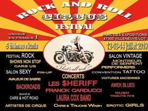 Rock and Roll Circus Festival - Villeneuve sur Lot (47) @ Parc des Expositions | Villeneuve-sur-Lot | Nouvelle-Aquitaine | France