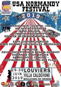 USA Normandy Festival - Louviers (27) @ Villa Calderone | Louviers | Normandie | France