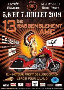 13e Rassemblement AMC - Azay Moto Club - Larçay (37) @ Larçay (37)
