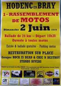1er Rassemblement de motos - Hodenc-en-Bray (60) @  Hodenc-en-Bray (60)