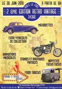2e Edition Rétro Vintage - Viols-le-Fort (34) @ Viols-le-Fort (34)