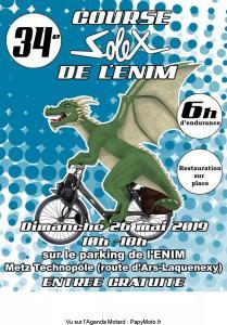 34e course Solex de l'Enim - Metz (57) @ Parking de l'Enim
