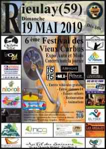 6e festival des vieux carbus - Rieulay (59) @ Rieulay (59)