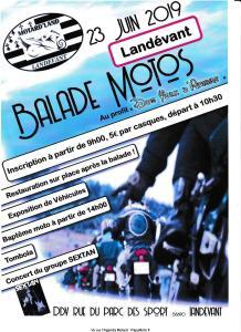 Balade Moto – Motard'Land – Landévant (56) @ RUE DU parc des Sports