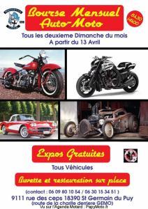 Bourse Auto-Moto Mensuel - Saint Germain du Puy (18)