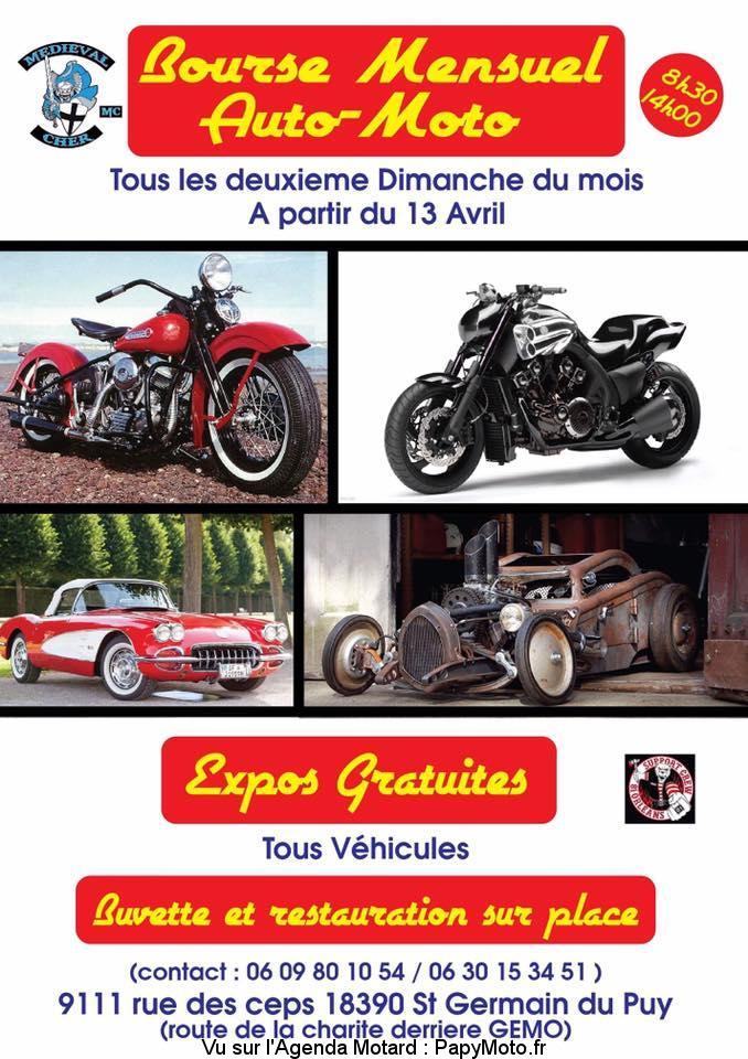 Bourse Auto-Moto Mensuel – Saint Germain du Puy (18)
