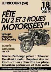 Fête du 2 et 3 roues Motorisées #1 - Letricourt (54) @  Letricourt (54)