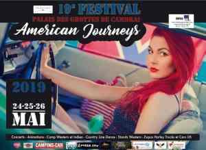 Festival Américan Journeys – Cambrai (59) @ Palais des Grottes
