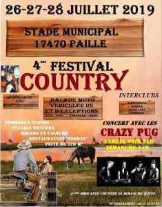 4e Festival Country - Paille (17) @ Stade Municipal