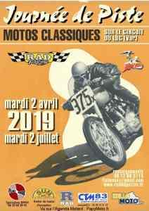 Journée de Piste - Motos Classiques – Circuit du Luc (83) @  Circuit du Luc (83)