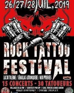 Rock Tattoo Festival - Sénaillac-Latronquière (46) @ Lac du Tolerme