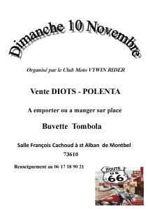 Diots Polenta - Saint-Alban-de-Montbel (73) @ Salle François Cachoud | Saint-Alban-de-Montbel | Auvergne-Rhône-Alpes | France