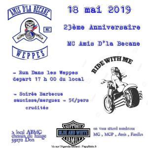 23e Anniversaire - MC Amis D'la Bécane - Don (59) @ Local Chemin du halage   Don   Hauts-de-France   France