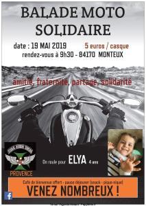 Balade Moto Solidaire - Monteux (84) @ Monteux | Provence-Alpes-Côte d'Azur | France