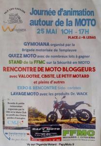 Journée d'animation autour de la moto - MCP les Gaulois - Seclin (59) @ Seclin   Hauts-de-France   France