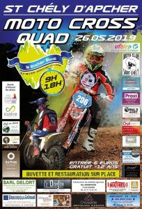 Moto Cross Quad - Saint Chély d'Apcher (48) @ Saint-Chély-d'Apcher   Occitanie   France