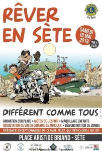 Rêver en Sète - Les Motos de l'espoir - Sète (34) @ Place Aristide Briand | Sète | Occitanie | France