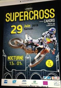 Supercross - Cahors (46) @ Plaine de Labéraudie   Cahors   Occitanie   France