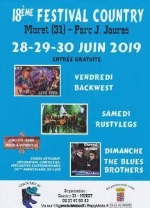18e Festival country - Muret (31) @ Parc Jean Jaures   Muret   Occitanie   France