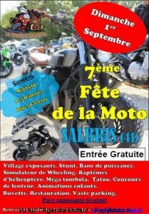 7e Fête de la Moto – Les RazorBikes Salbrisiens - Salbris (41) @ Parc Albert Benoit | Salbris | Centre-Val de Loire | France