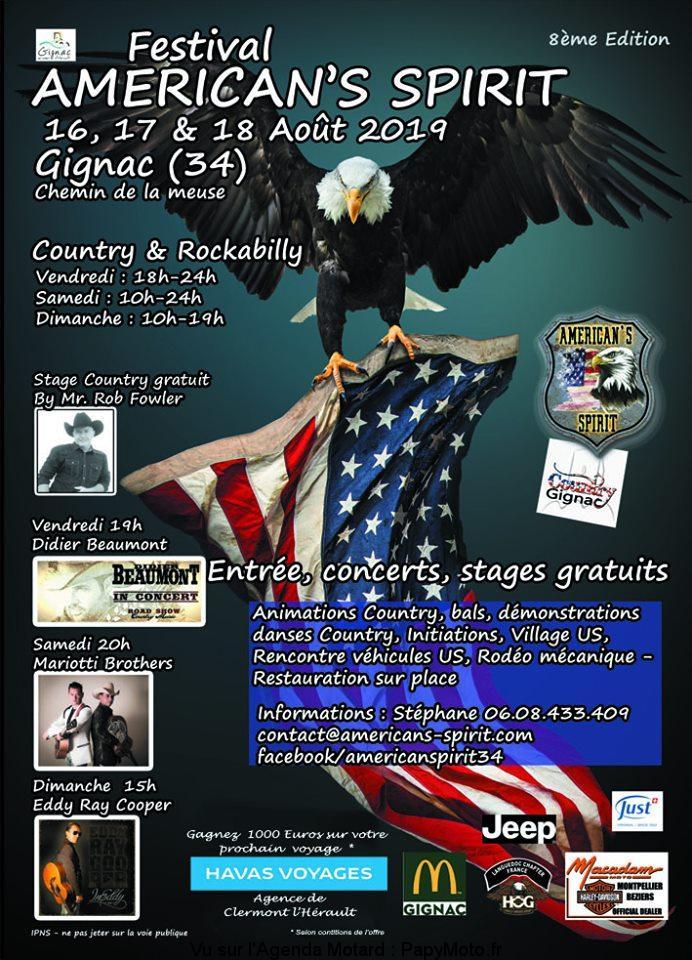Festival AMERICAN'S SPIRIT – GIGNAC (34)