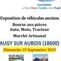 Exposition de véhicules anciens - Bourse aux pièces - Augy sur Aubois (18)
