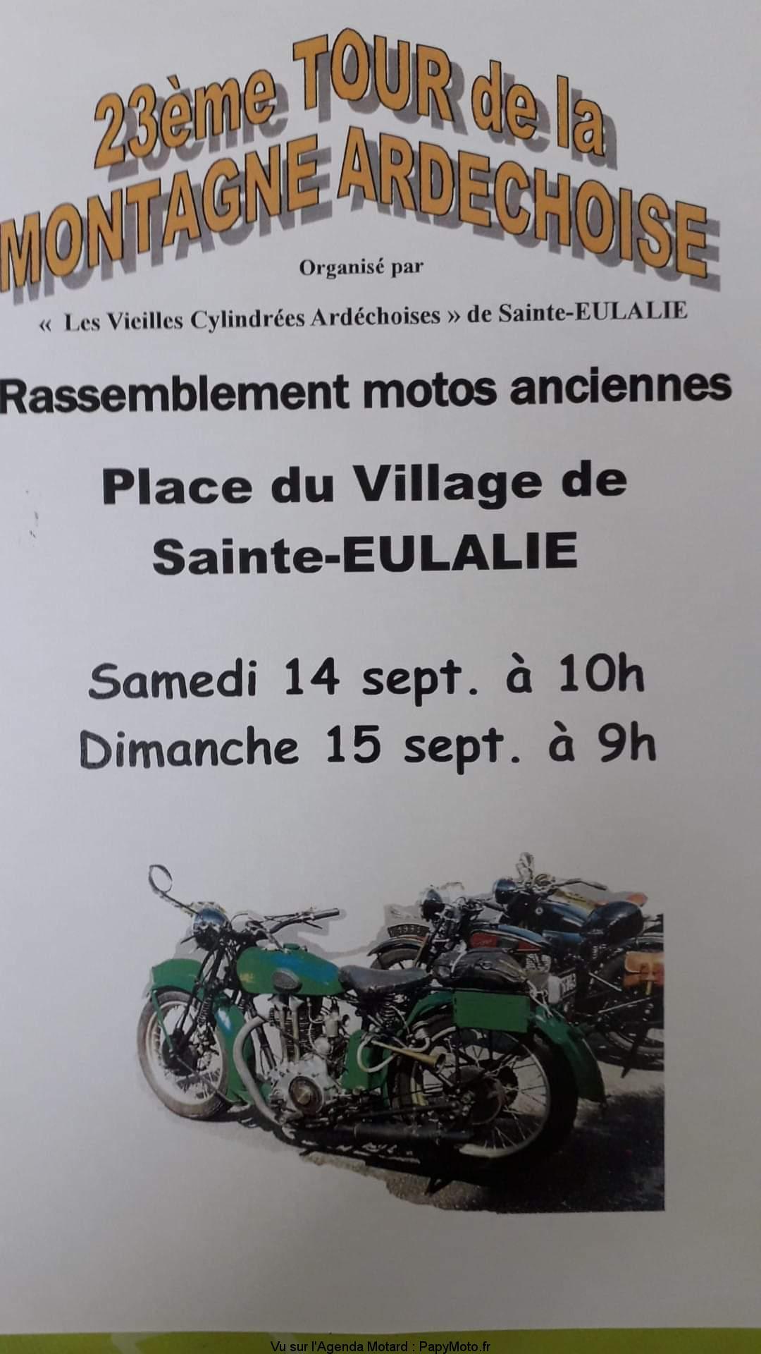 23e Tour de la montagne Ardéchoise – Sainte-Eulalie (07)