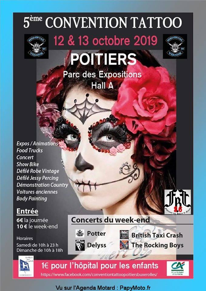 Convention Tattoo – Poitiers (86)