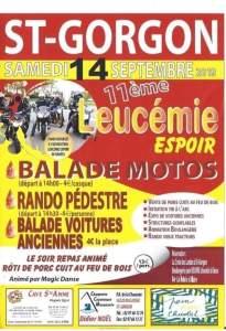 11e Leucemie Espoir - Saint Gorgon (56) @ Saint gorgon | Le Bourg | Occitanie | France