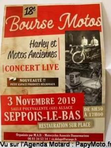 18e Bourse Motos - Seppois-Le-Bas (68) @ Salle Polyvalente | Seppois-le-Bas | Grand Est | France