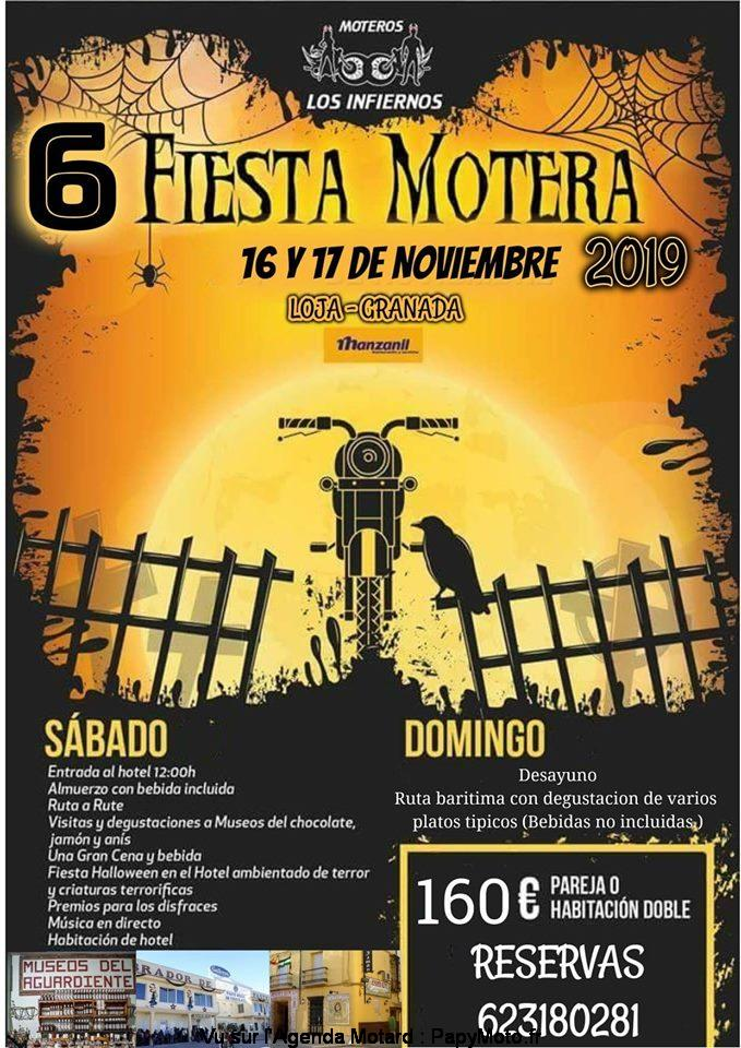 6e Fiesta Motera – Los Infiernos – Loja- Grenada ( Espagne)