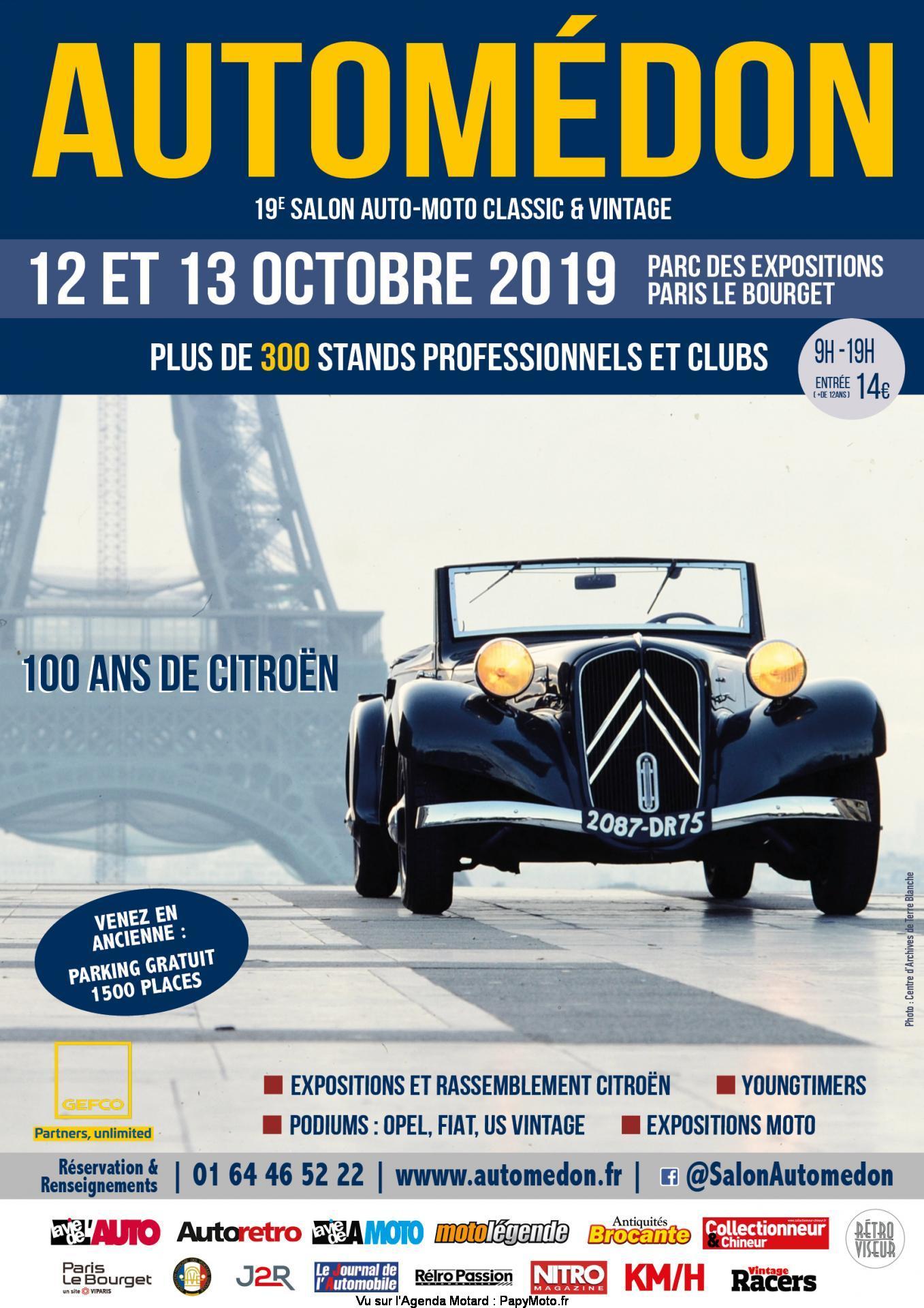 Automédon – Paris le Bourget (93)