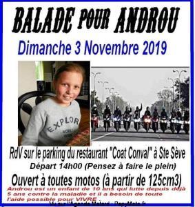 Balade pour Androu - Sainte-Sève (29) @ Sainte-Sève | Bretagne | France