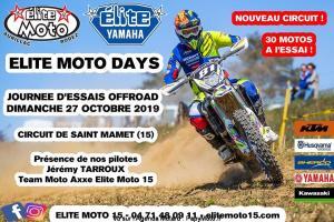 Elite Moto Days - Journée d'essais offroad - Circuit Saint Mamet (15) @ Saint-Mamet-la-Salvetat | Auvergne-Rhône-Alpes | France