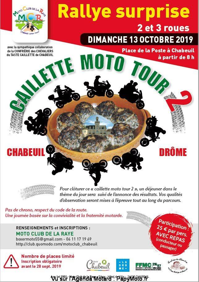 Rallye surprise  – Chabeuil (26)