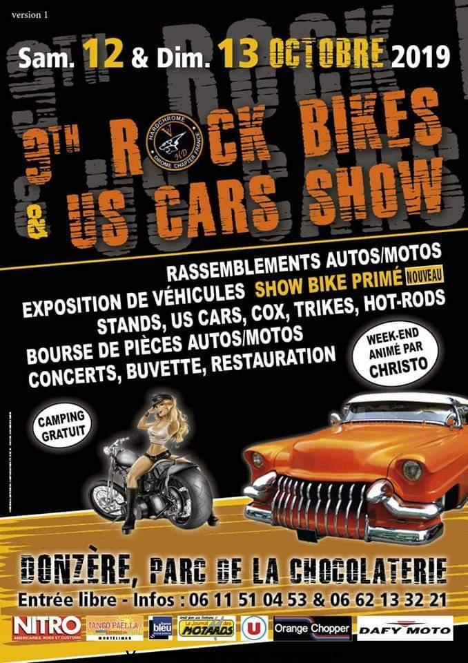 Rock Bikes & US Cars Show – Donzère (26)