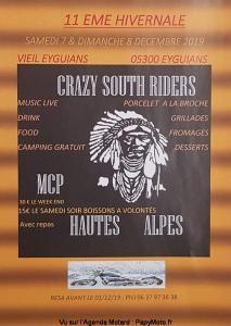 11e Hivernale - Crazy South Riders - Eyguians (05) @ Veil Eyguians | Garde-Colombe | Provence-Alpes-Côte d'Azur | France